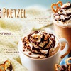 Starbuck Mocha chocolat bretzel japon