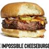 Burger végétarien goût viande