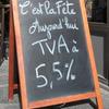 TVA à 5.5% : le prix du kebab en baisse ?