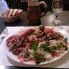 Assiette brochette de poulet - Ephès à Paris