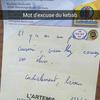 Ce gérant de kebab écrit des mots d'excuse pour ses clients en retard !