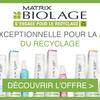 Journée du recyclage : Biolage lance une offre exceptionnelle !