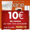 Camille Albane vous offre 10 euros sur votre commande... et bien plus !