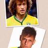 Neymar et David Luiz