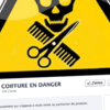 Interdiction vente produits professionnels coiffure particuliers