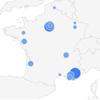 Classement des 10 villes en France ou on va le plus chez le coiffure