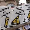 Manifestation anti-RSI : Pari réussi pour Coiffure en Danger !