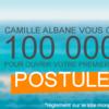 Camille Albane vous offre 100 000 euros pour ouvrir votre salon