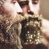 Glitter beard, la nouvelle tendance des barbus
