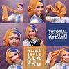 Hijab : 10 tutoriels pour parfaitement porter le voile en soirée !