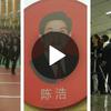En Chine, les coiffeurs sont formés comme des militaires !