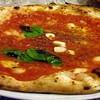 La pizza Marinara