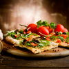 Pizza gastronomique ou pizza fast food