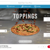 Domino's personnaliser pizza