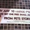 10 pizzas achetées = 1 hamster offert Pizza Hut