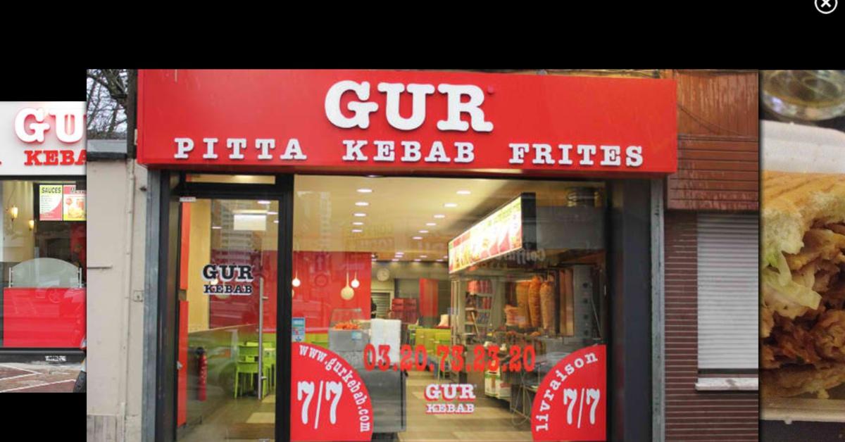snack gur - meilleur kebab roubaix