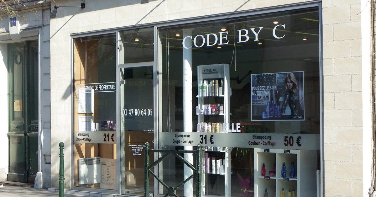 code by c meilleur salon de coiffure la garenne colombes. Black Bedroom Furniture Sets. Home Design Ideas
