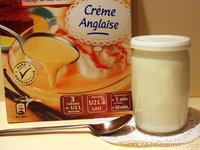 Yaourt à la crème anglaise