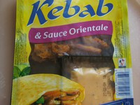 Kebab & Sauce Orientale (Douce France) + Kid Smile (McCain) - Photo 9