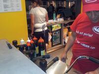 Naan cheese chick'N - Nabab Kebab à Paris - Photo 6