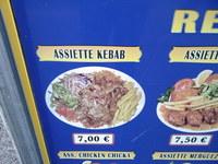 Assiette kebab - Restaurant Sibel à Paris - Photo 6