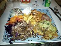 Les inimitables assiettes - La Turquoise à Paris - Photo 8