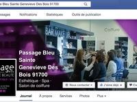 Passage Bleu Sainte-Geneviève-des-Bois
