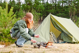 Le camping sauvage