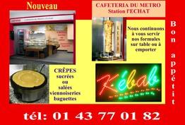 Cafétériat Du Métro Créteil L'echat Créteil