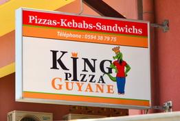 King pizza guyane Cayenne