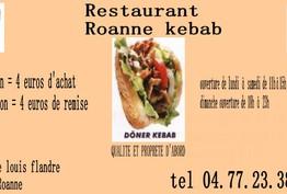 Roanne kebab Roanne