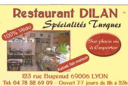Dilan kebab Lyon