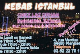 Snack kebab istanbul Piennes