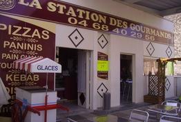 La station des Gourmands Ouveillan