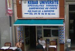 Kebab Université Lyon