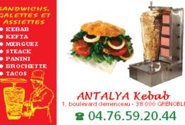 L'antalya Kebab Grenoble