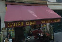Galerie kebab Paris 09