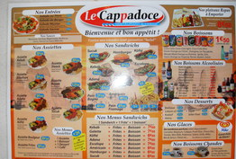 Le cappadoce kebab Valence