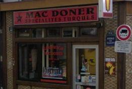 Mac doner Paris 18