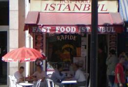 Fast food Istanbul Paris 12