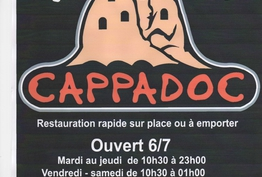 Restaurant Cappadoc Bellegarde-sur-Valserine
