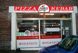 Mosaique pizza-kebab Amiens