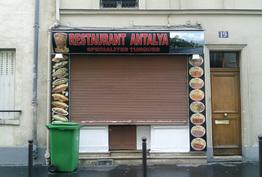 Restaurant Antalya Paris 14