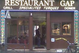 Restaurant GAP Paris 18