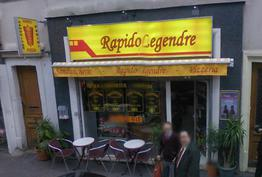 Rapido Legendre Paris 17