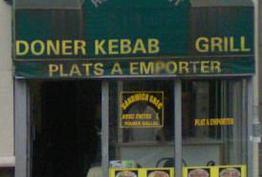 Doner Kebab Grill Paris 18