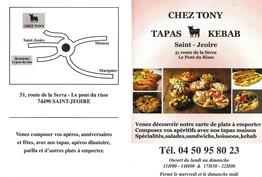 Chez tony Saint-Jeoire