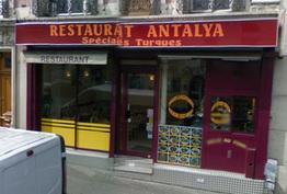 Restaurant Antalya Paris 12