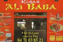 Kebab Ali Baba Le-Puy-en-Velay