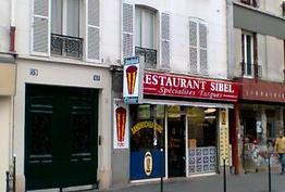 Restaurant Sibel Paris 14